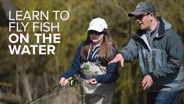 LEARN TO FLY FISH ON THE WATER
